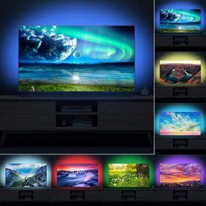 LED RGB lučke za TV sprejemnik